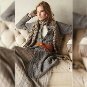 Anthropologie Far Away From Close Duster Sweater